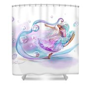 Colors Of Wisdom Shower Curtain