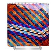 Colors Play Shower Curtain