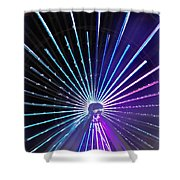 Colorwheel Shower Curtain