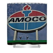 Colossal Amoco Shower Curtain