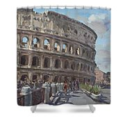 Colosseo Rome Shower Curtain