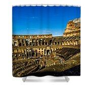 Colosseum In Rome Interior Shower Curtain