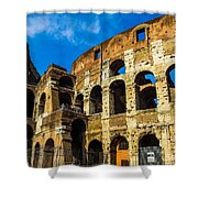 Colosseum In Rome Italy Shower Curtain