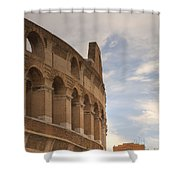 Colosseum In The Historic Centre Of Rome Shower Curtain