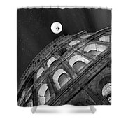 Colosseum Panorama Shower Curtain by Stefano Senise