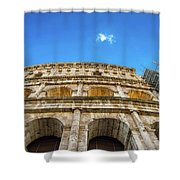 Colosseum Perspective Shower Curtain