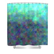 colour impression 1-A rainy summers day Shower Curtain