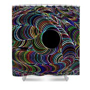 Colour My World Shower Curtain
