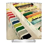 Colour Of Life Shower Curtain