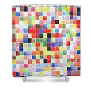 Colour Square Shower Curtain