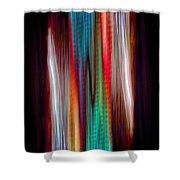 Colour Stream Shower Curtain