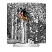Colour Takeoff Shower Curtain