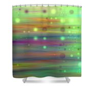 Colour13mlv - Impressions Shower Curtain