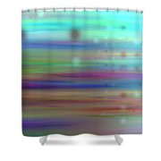 Colour24mlv - Impressions Shower Curtain