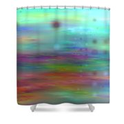Colour25mlv - Impressions Shower Curtain