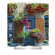 Colourful Boutique,france. Shower Curtain