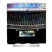 Colourful Caddy Shower Curtain