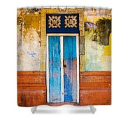 Colourful Door Shower Curtain