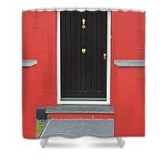 Colourful House Shower Curtain