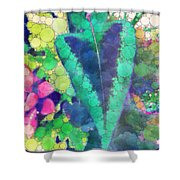 Colourful Leaves Shower Curtain