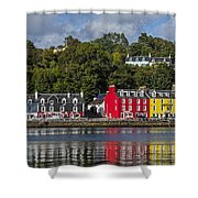 Colourful Tobermory Shower Curtain