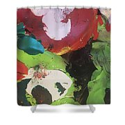 Colourful Wasteland Shower Curtain