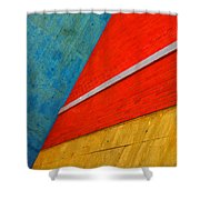 Colours And Shapes Shower Curtain