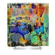 Colours Shower Curtain
