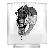 Colours Convey Or Cover Meanings. Shower Curtain