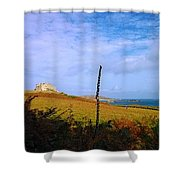 Colours Of Autum Shower Curtain