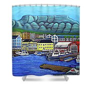 Colours Of Cape Town Shower Curtain