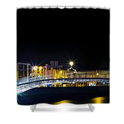 Colours Of The Night Shower Curtain