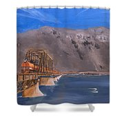 Columbia Crossing Shower Curtain
