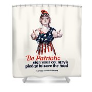 Columbia Invites You To Save Food Shower Curtain