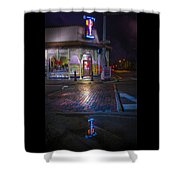 Columbia Reflection Shower Curtain