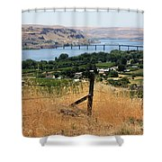 Columbia River - Biggs And Maryhill State Park Shower Curtain