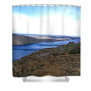 Columbia River 2 Shower Curtain