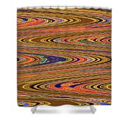 Columbia River Abstract #8045wpsws Shower Curtain