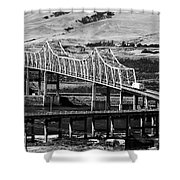 Columbia River Crossing Shower Curtain