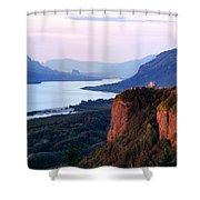 Columbia River Vista House Shower Curtain
