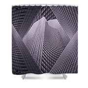 Columbia Tower Seattle Wa 2 Shower Curtain