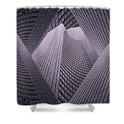 Columbia Tower Seattle Wa 2 Shower Curtain