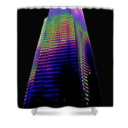 Columbia Tower Seattle Wa Shower Curtain