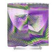 Columbia Tower Vortex 3 Shower Curtain