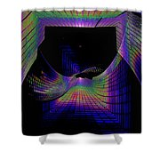Columbia Tower Vortex Shower Curtain