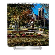 Columbus Day In The Park Shower Curtain