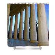 Columns At Jefferson Shower Curtain