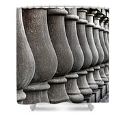 Columns Shower Curtain