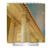 Columns To Heaven Shower Curtain