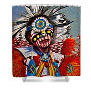 Comanche Dance Shower Curtain